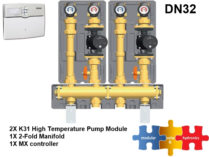 DN 32 two high zone new pump image