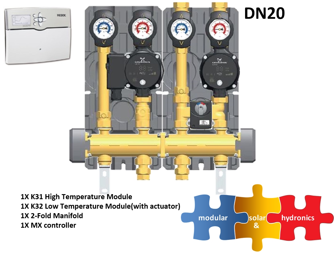 DN20 1 high 1 low zone new pump image