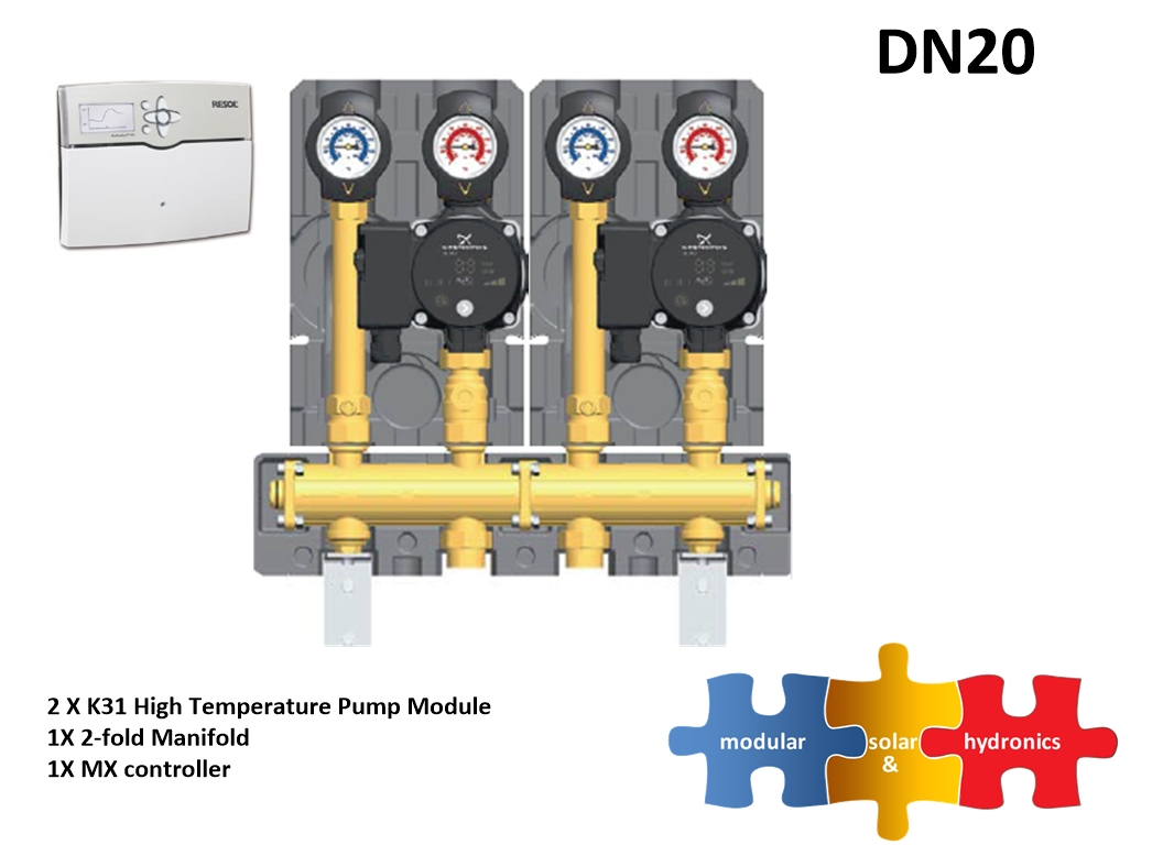 DN20 two high zone new pump image