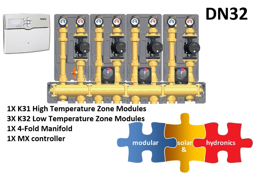 DN32 1 High 3 Low Zones new pump image