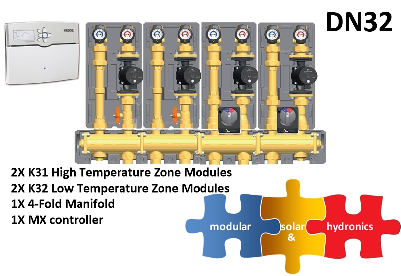 DN32 2 High 2 Low Zones new pump image