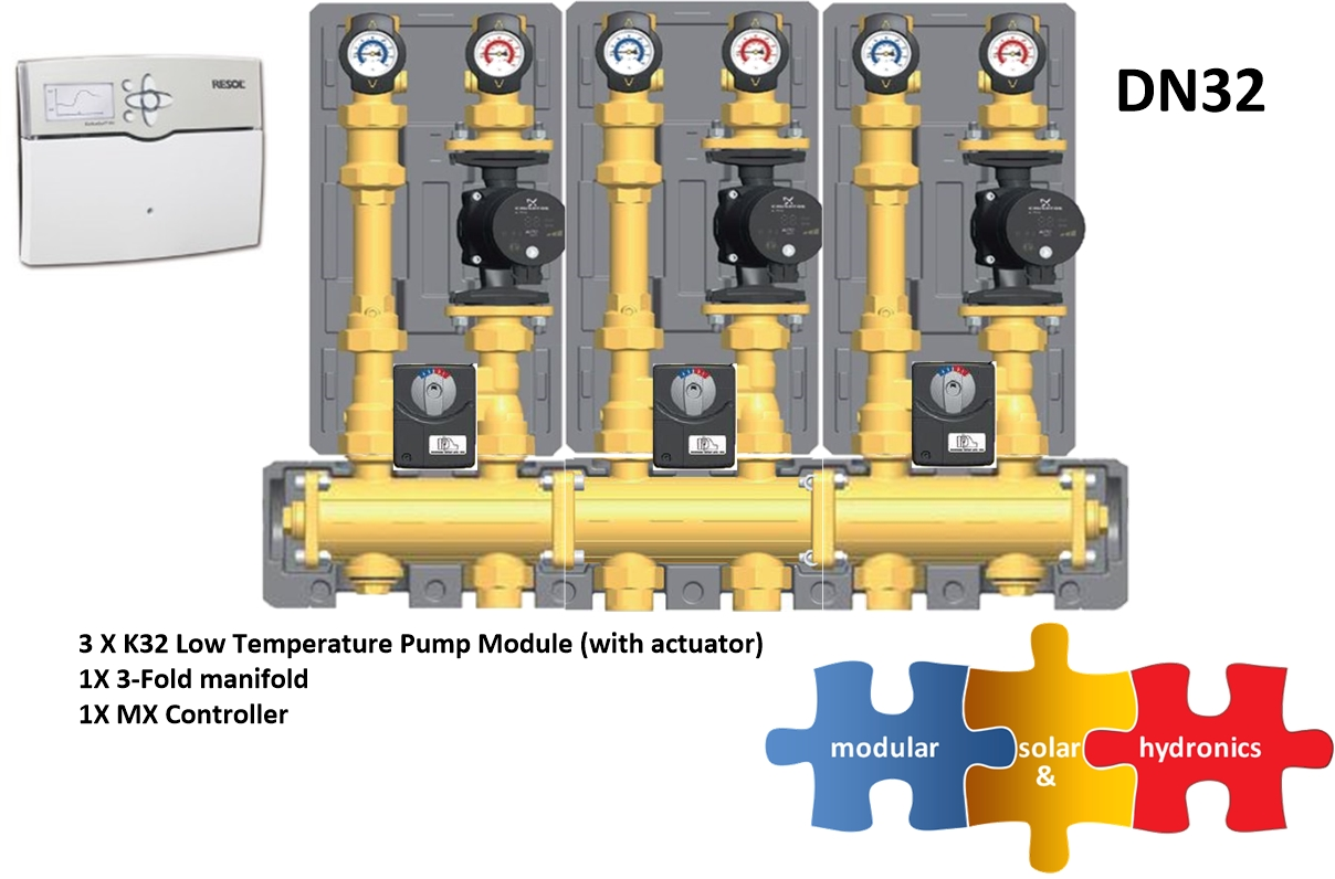 DN32 3 low zones new pump image