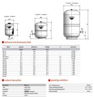 ZilmetExpansion-Tank-Specification